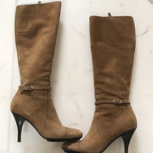 HOT!!! Alberto Guardiani 36.5 Camel Suede Boots